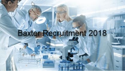 Phd & Msc Chemistry Research Associate Post Vacancy @ Baxter