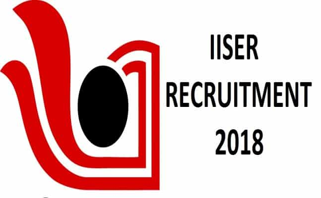 Multiple Job Opening for Msc Chemistry Candidates @ IISER, Pune