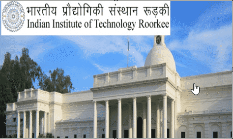 Phd Chemistry Research Associate Job Vacancy @ IIT, Roorkee