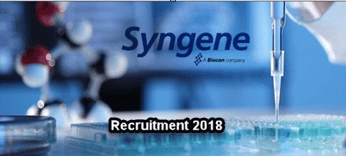 Career @ Syngene | Associate Scientist Post Available