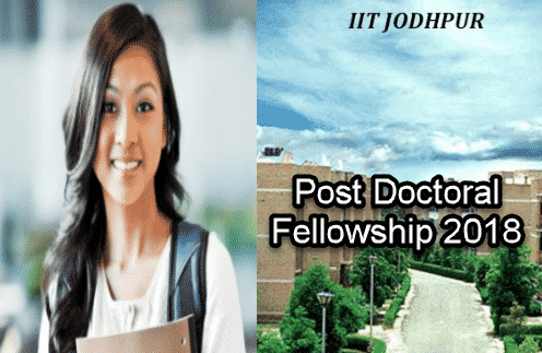 Phd Chemistry Post Doctoral Fellowship @ IIT, Jodhpur