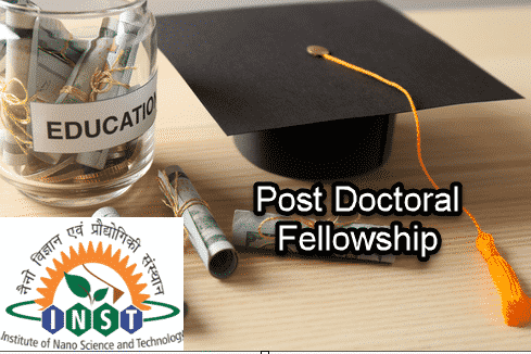 Post Doctoral Fellowship @ Institute of Nano Science & Technology