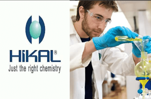 Bsc Chemistry Production, Jr.Officer Post Available @ Hikal