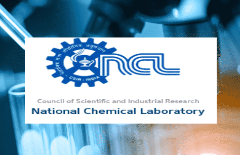 National Chemical Laboratory Chemistry Job, Project Assistance Post