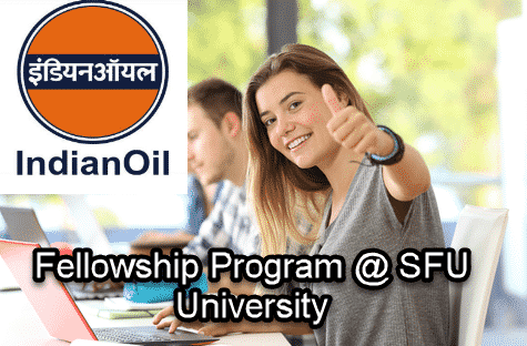 Chemistry Fellowship @ Indian Oil | Simon Fraser University