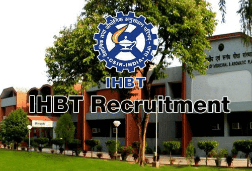 Chemistry Candidates Walk in interview @ IHBT, Himachal Pradesh