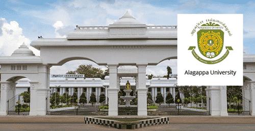 Msc Chemistry Project Assistant Post @ Alagappa University