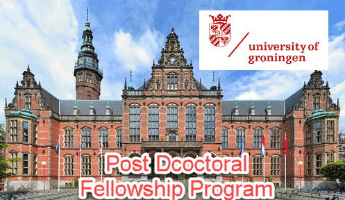 Post Doctoral Fellowship in Chemistry @ University of Groningen