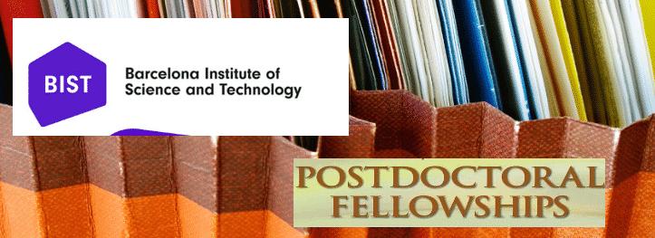 BIST Postdoctoral Fellowship Programme Notification 2019