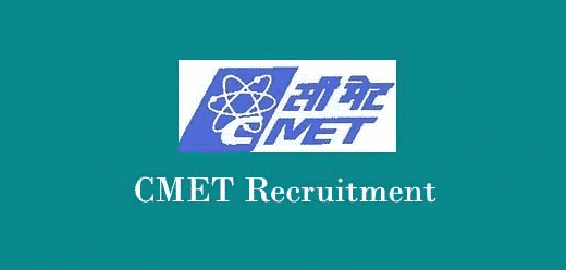 Govt Jobs, Walk in Interview @ CMET, Chemistry Project Staff Post