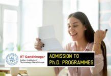 IIT Gandhinagar Phd Admission 2019- Official Notification