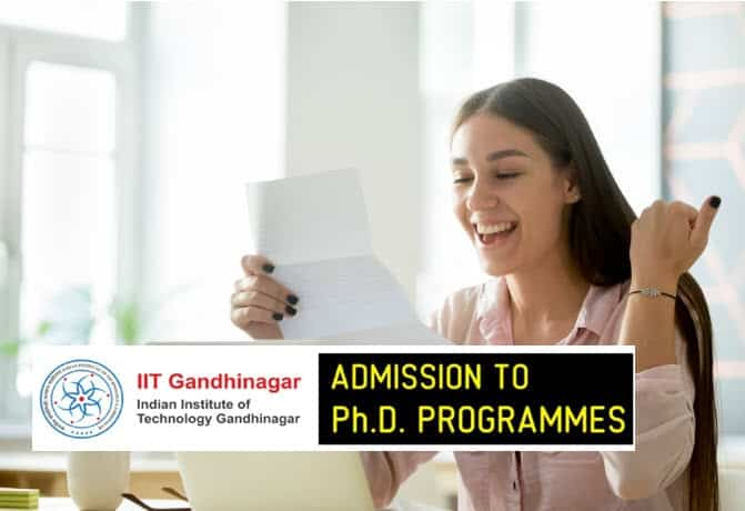 IIT Gandhinagar Phd Admission 2019- Official Notification