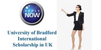 University of Bradford Excellence Scholarship For Chemistry & Pharma