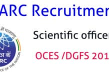 BARC Online Exam OCES & DGFS 2019 - Chemistry Candidates Apply