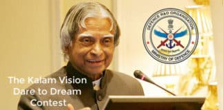 DRDO - The Kalam Vision Dare to Dream Contest : Applications Invited