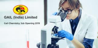 Gail Chemistry Job Opening 2019 - Salary Upto Rs 2 Lakh pm