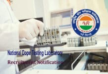 Govt Chemistry Job : Junior Analyst @ National Dope Testing Laboratory