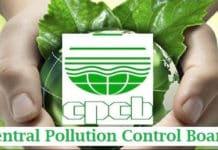 Msc Chemistry SRF Govt Job @ Central Pollution Control Board