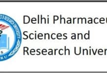 DPSRU Hiring Pharma Professor with a Salary of 67,000/- pm