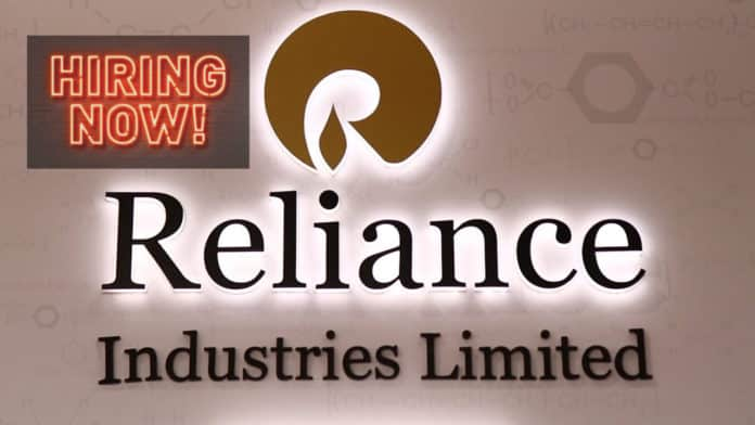 Reliance Industries Hiring Chemistry Candidates For Lab Analyst Post