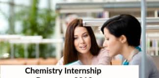 Chemistry Internship Program 2019 at Saint Gobain Research India Pvt Ltd