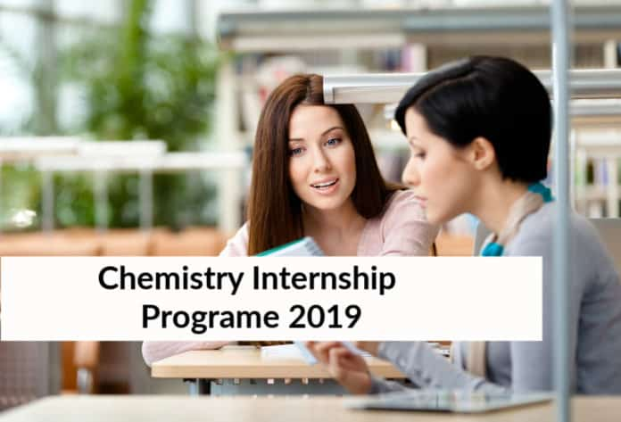 Chemistry Internship Program 2019 at Saint Gobain Research India Pvt Ltd