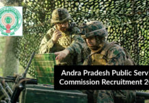 Chemistry Forest Section Officers Post at A.P Public Service Commission