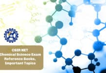 CSIR NET Chemical Science Exam - Reference Books, Important Topics