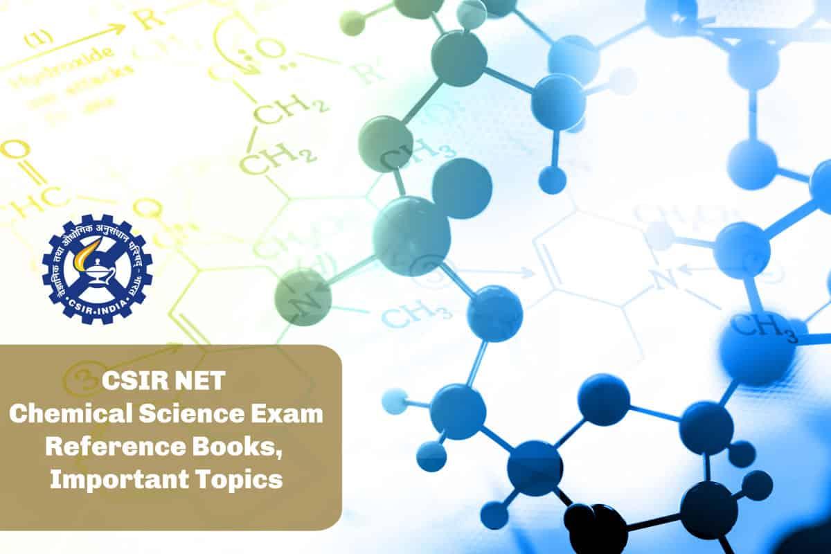 CSIR NET Chemical Science Exam - Reference Books, Important