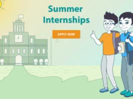 IIT Ropar Summer Internship Programme 2019- Application Details