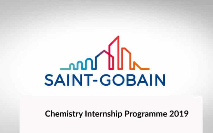 Chemistry Internship Programme @ Saint Gobain Research India Pvt Ltd