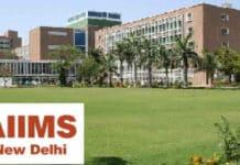 AIIMS New Delhi: M Tech & Msc Chemical Science Job Opening