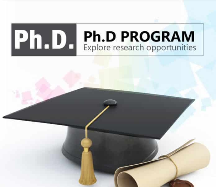 PhD Chemistry Admission Programme University of Cambridge - 2019