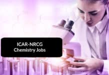 ICAR-NRCG Chemistry Jobs – Research Assistant Posts