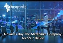 Novartis Acquires Medicines Co. The Cholesterol Drug Maker For $ 9.7 Billion