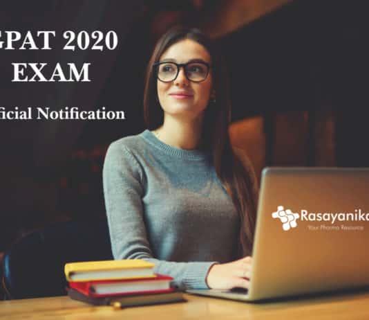 GPAT 2020 Exam