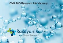 GVK BIO Research Job Opening – Chemistry Research Job