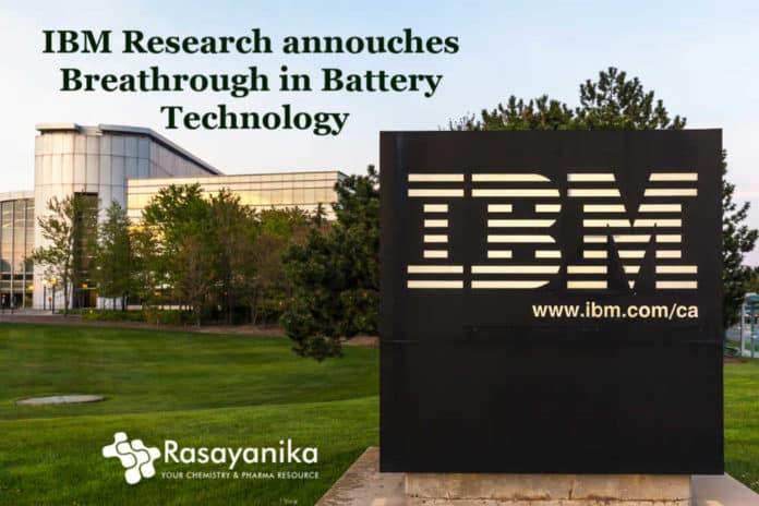 IBM Breakthrough Battery Discovery