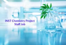INST Chemistry Project Staff Job - Application Details (1)
