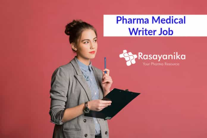 Novartis Pharma Medical Writer Job Opening - Pharma Job Opening