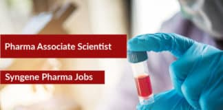 Syngene Pharma Associate Scientist Post – M Pharma Candidates Apply