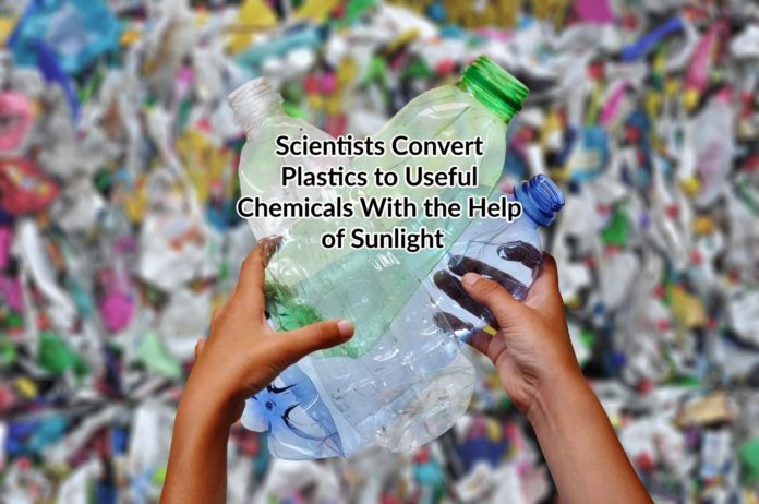 convert plastics to useful chemicals