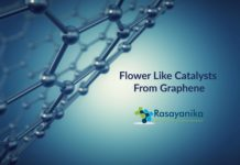 flower like catalysts from graphene