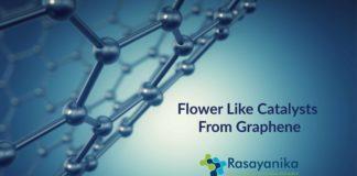 flower like catalysts from graphene