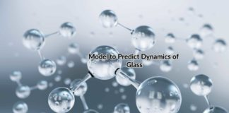 model to predict dynamics of glass