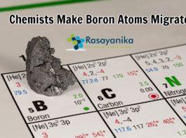 Chemists let boron atoms migrate