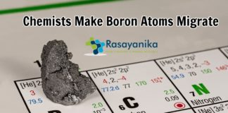 Chemists let boron atoms migrate