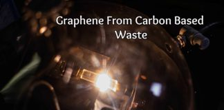 Graphene from carbon based waste