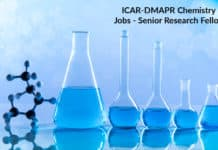 ICAR-DMAPR Chemistry Jobs - Senior Research Fellow