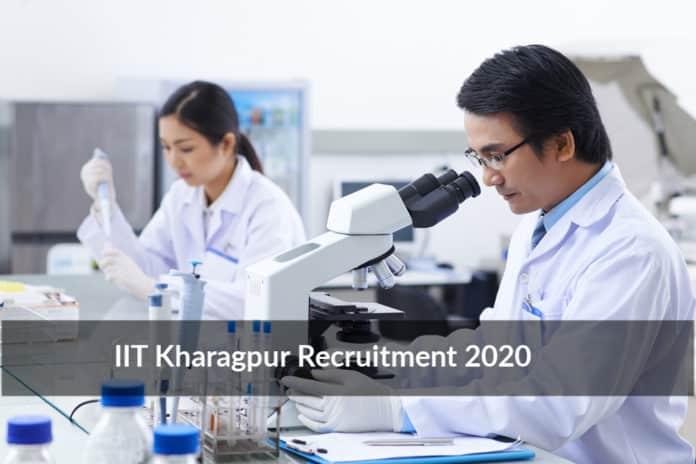 IIT Kharagpur Recruitment 2020 – Chemistry Research Fellow
